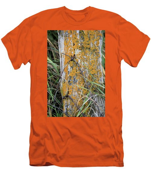 Weathered Fence Men's T-Shirt (Athletic Fit)