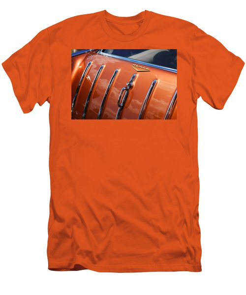 Men's T-Shirt (Slim Fit) featuring the photograph 1957 Chevrolet Nomad by Gordon Dean II