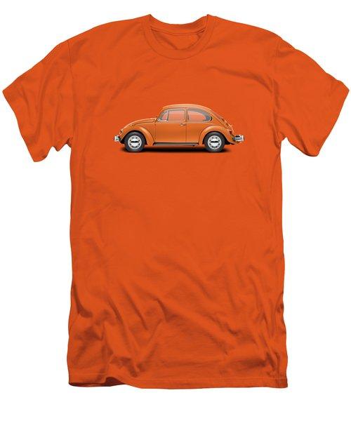 1974 Volkswagen Beetle - Bright Orange Men's T-Shirt (Athletic Fit)