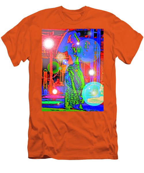 Belly Dance Men's T-Shirt (Slim Fit) by Andy Za