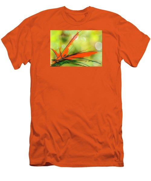 Bird Of Paradise 2 Men's T-Shirt (Slim Fit) by Kume Bryant