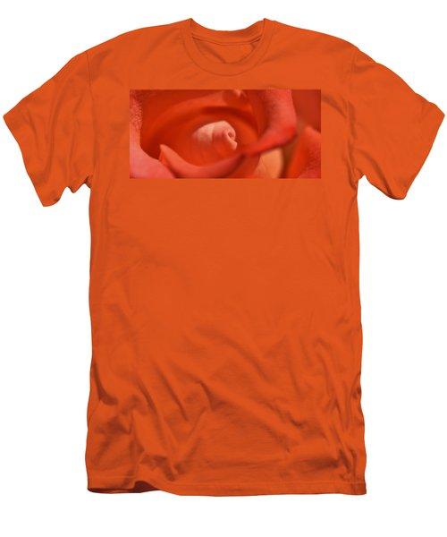 Erotic Rose Men's T-Shirt (Slim Fit) by Werner Lehmann