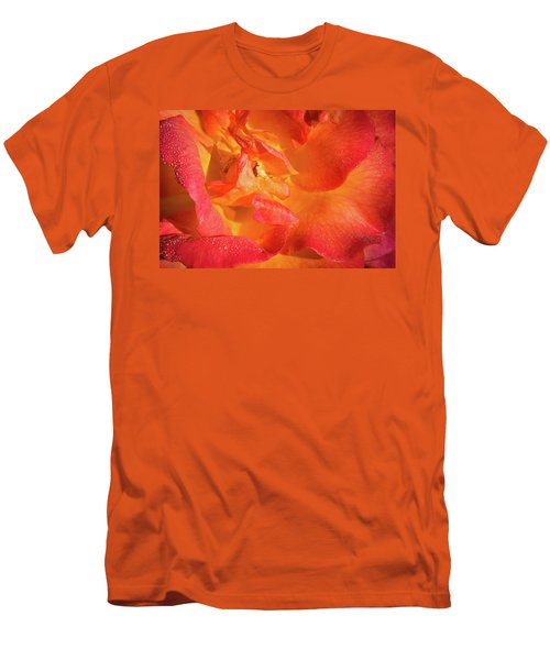 Floribunda Men's T-Shirt (Slim Fit) by Denis Lemay