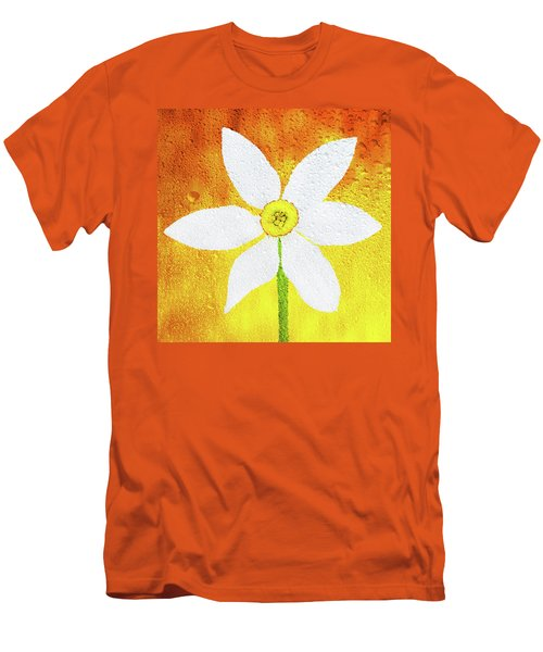 Men's T-Shirt (Slim Fit) featuring the photograph Flower Paradise by Bess Hamiti