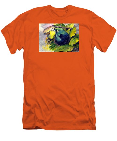Men's T-Shirt (Slim Fit) featuring the painting Paradise Bird by Jason Sentuf