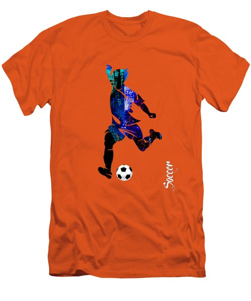 Soccer Collection Men's T-Shirt (Athletic Fit)