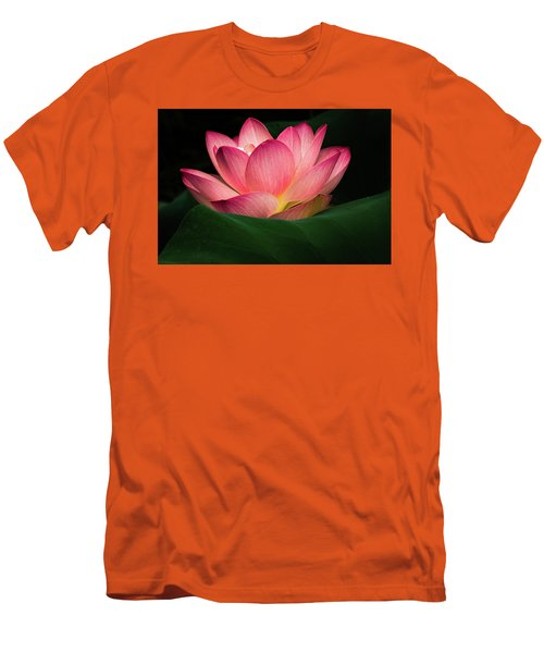 Men's T-Shirt (Slim Fit) featuring the photograph Water Lily by Jay Stockhaus