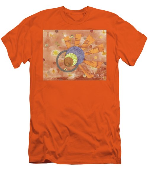 Men's T-Shirt (Slim Fit) featuring the mixed media 2life by Desiree Paquette