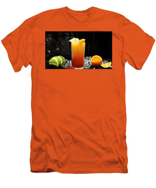 Cocktails Men's T-Shirt (Athletic Fit)
