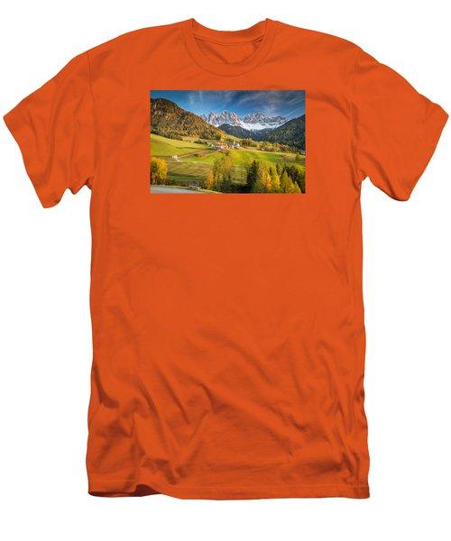 Dolomites Men's T-Shirt (Athletic Fit)