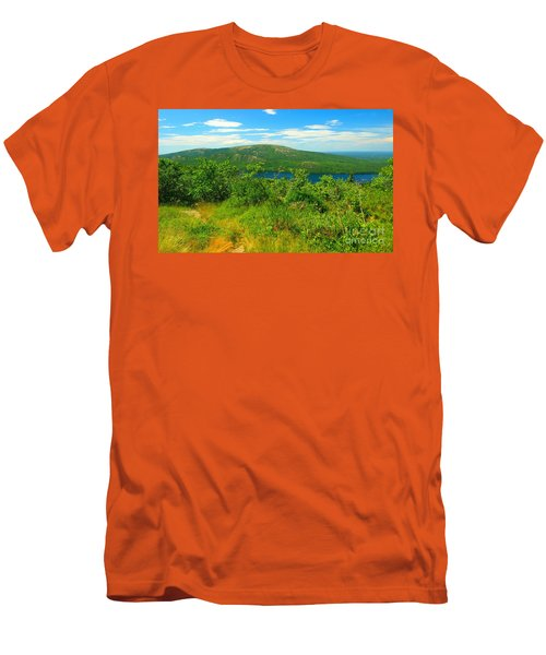 White Mountain's  Men's T-Shirt (Slim Fit) by Raymond Earley