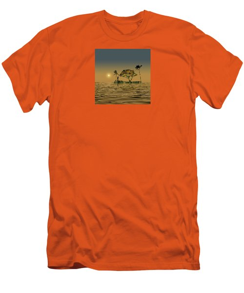 Men's T-Shirt (Slim Fit) featuring the photograph 4423 by Peter Holme III