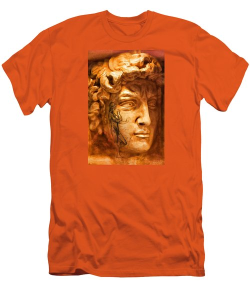 Venice Untitled Men's T-Shirt (Slim Fit) by Brian Davis
