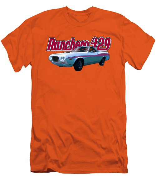 72 Ford Ranchero By The Sea Men's T-Shirt (Athletic Fit)