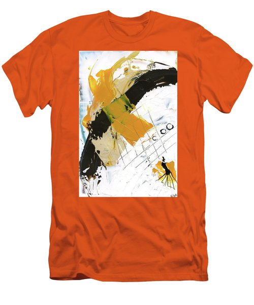 Three Color Palette Men's T-Shirt (Slim Fit) by Michal Mitak Mahgerefteh