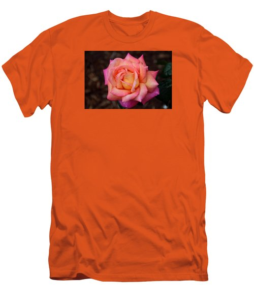 Men's T-Shirt (Slim Fit) featuring the photograph A Breath From Sarasota by Michiale Schneider