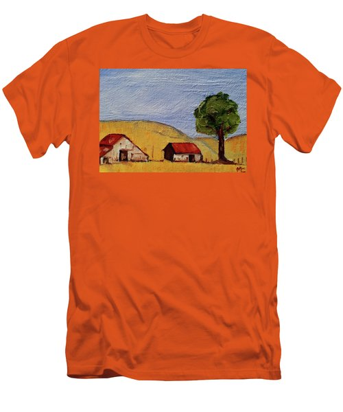 A Farm In California Winecountry Men's T-Shirt (Athletic Fit)