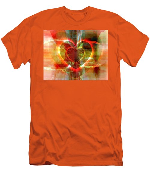 A Forgiving Heart Men's T-Shirt (Athletic Fit)