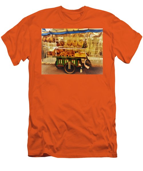 A Kaake Street Vendor In Beirut Men's T-Shirt (Athletic Fit)