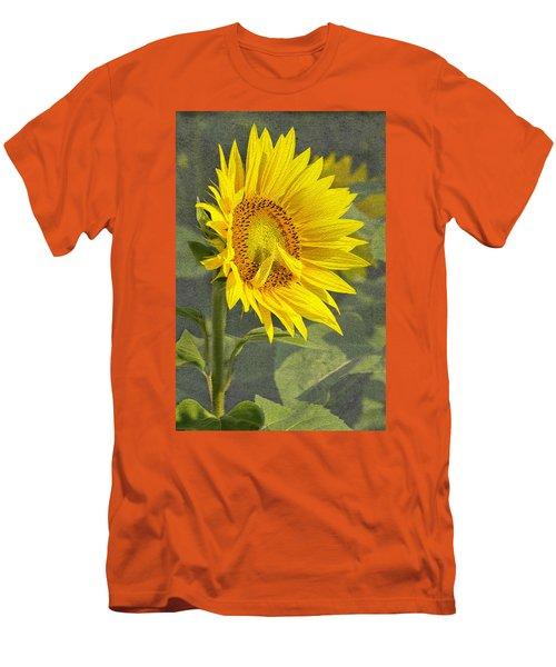 A Sunflower's Prayer Men's T-Shirt (Athletic Fit)