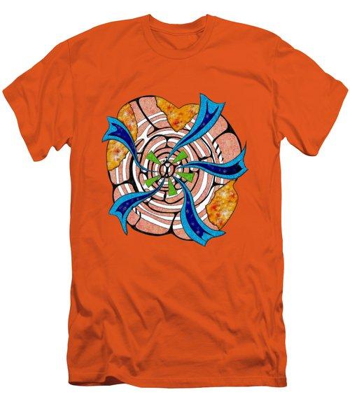 Abstract Digital Art - Ciretta V3 Men's T-Shirt (Slim Fit) by Cersatti