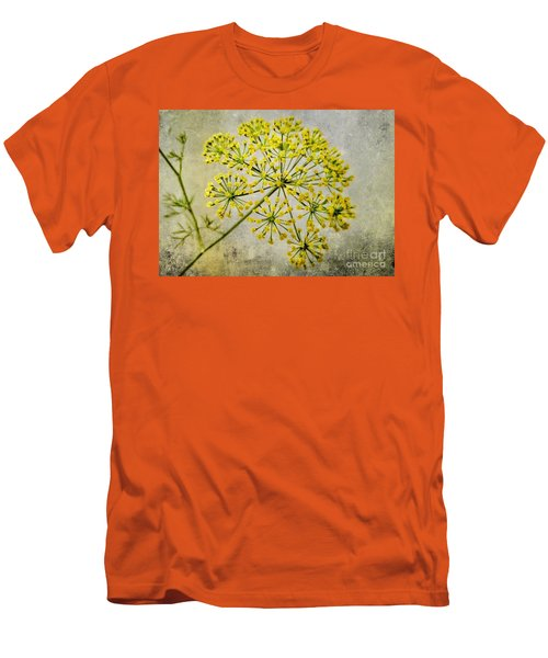 Attractive Dill Blossom  Men's T-Shirt (Athletic Fit)