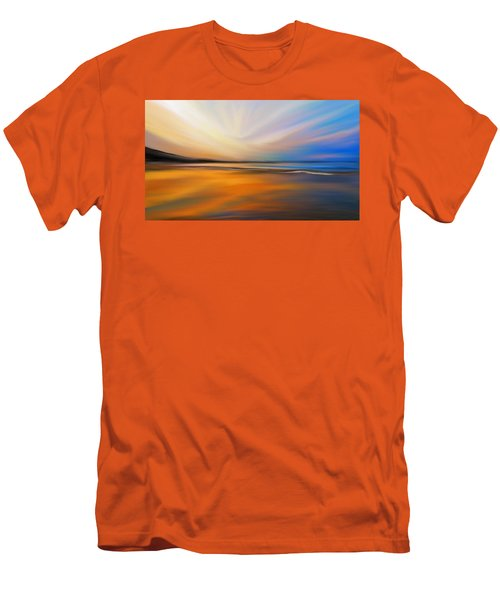 Abstract Energy Men's T-Shirt (Slim Fit) by Anthony Fishburne