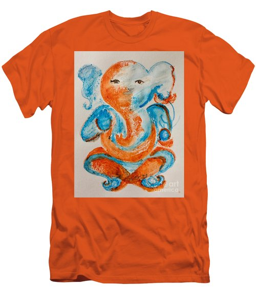 Abstract Ganesha Men's T-Shirt (Athletic Fit)