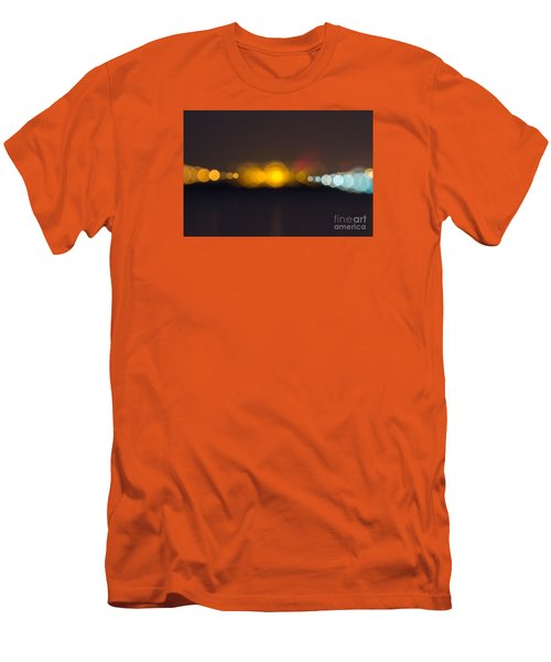 Men's T-Shirt (Slim Fit) featuring the photograph Abstract Light  by Odon Czintos