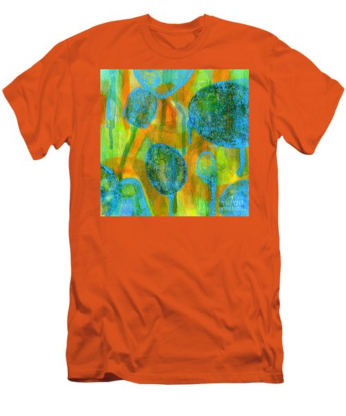 Abstract Painting No. 1 Men's T-Shirt (Slim Fit) by David Gordon
