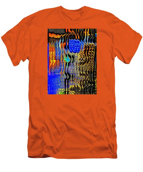 Men's T-Shirt (Slim Fit) featuring the photograph Abstract Photography 001-16 by Mimulux patricia no No