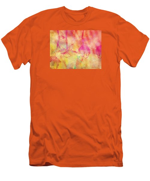 Men's T-Shirt (Slim Fit) featuring the photograph Abstract Photography 003-16 by Mimulux patricia no No