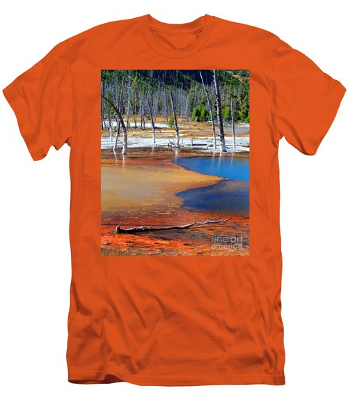 Acid Soup Yellowstone Men's T-Shirt (Athletic Fit)