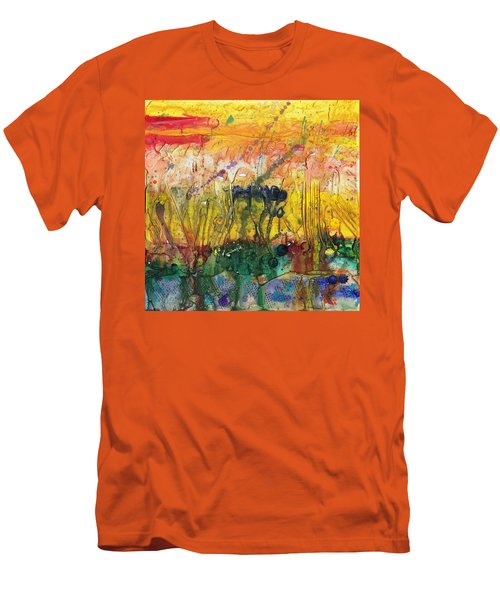 Agriculture Men's T-Shirt (Slim Fit) by Phil Strang