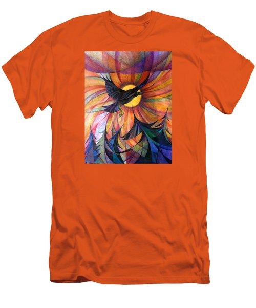Alaska Morning Men's T-Shirt (Slim Fit) by Anna Duyunova