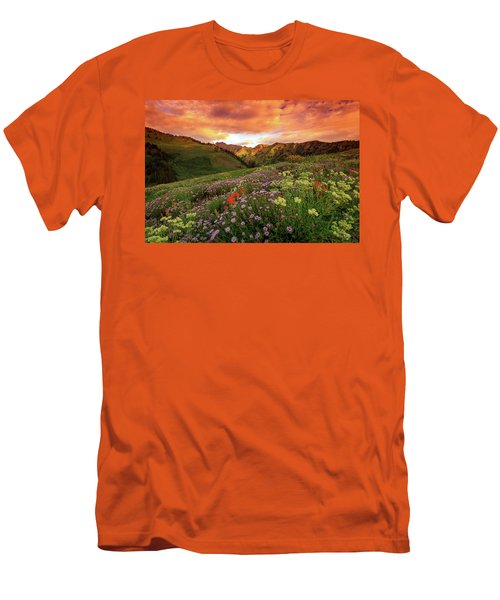Albion Basin Golden Sunrise Men's T-Shirt (Athletic Fit)