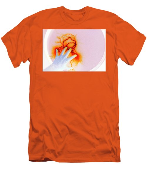 Men's T-Shirt (Slim Fit) featuring the photograph Alien Encounter Outside Looking In by Paul W Faust - Impressions of Light