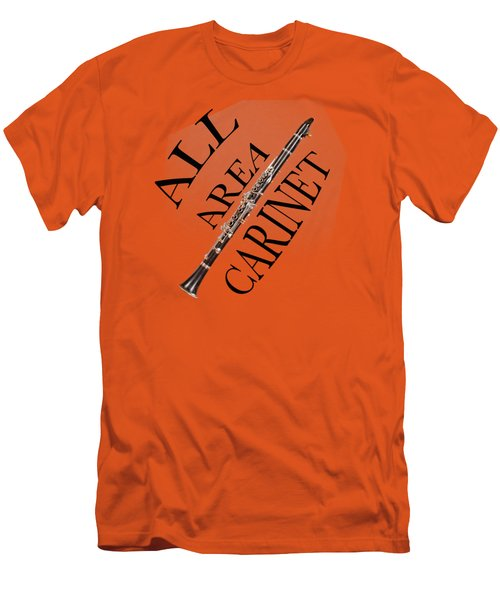 All Area Clarinet Men's T-Shirt (Athletic Fit)