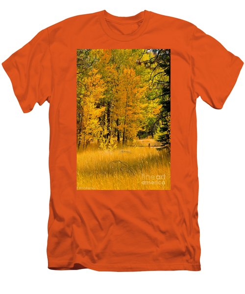 All The Soft Places To Fall Men's T-Shirt (Slim Fit) by Mitch Shindelbower