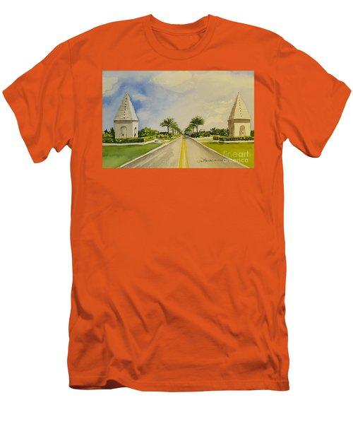 Alys Beach, Florida Men's T-Shirt (Athletic Fit)