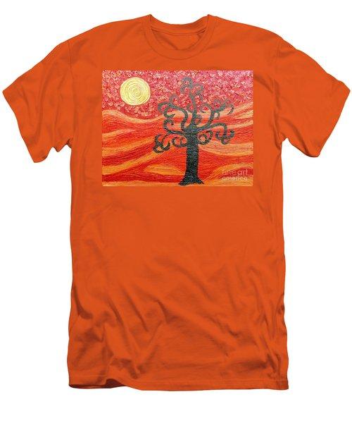Ambient Bliss Men's T-Shirt (Slim Fit) by Rachel Hannah