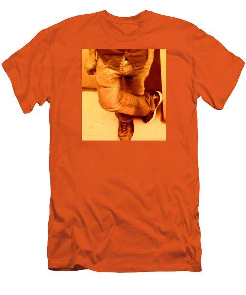 American Guy Men's T-Shirt (Slim Fit) by David Gilbert