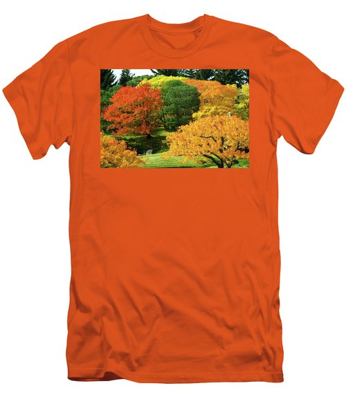 An Explosion Of Color Men's T-Shirt (Athletic Fit)