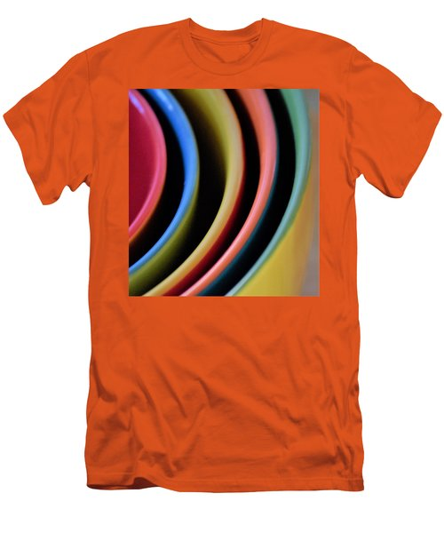 And A Dash Of Color Men's T-Shirt (Slim Fit) by John Glass