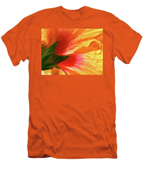 Men's T-Shirt (Slim Fit) featuring the photograph Angel Brushstrokes  by Marie Hicks