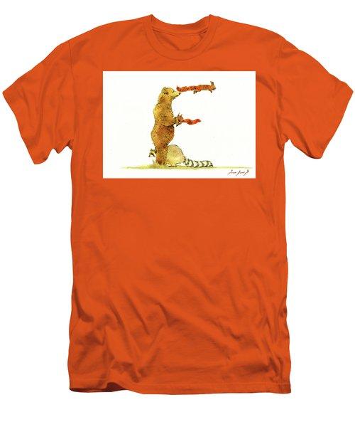 Animal Letter Men's T-Shirt (Athletic Fit)