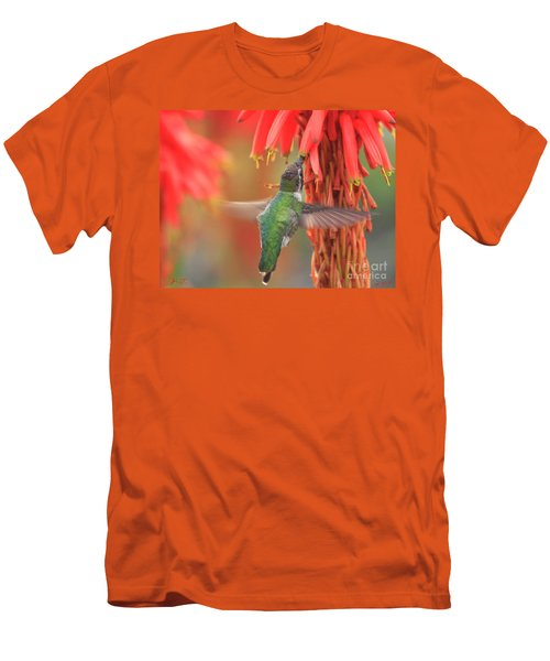 Men's T-Shirt (Athletic Fit) featuring the photograph Annas Garden by John F Tsumas