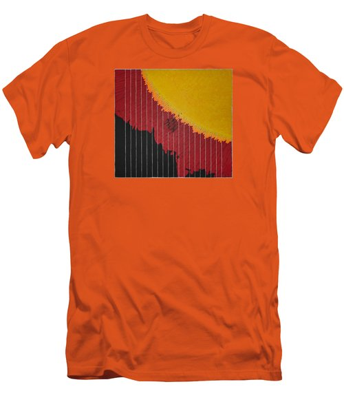 Anomaly At The Sun Men's T-Shirt (Athletic Fit)
