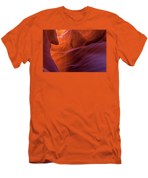 Antelope Canyon Fire Men's T-Shirt (Athletic Fit)