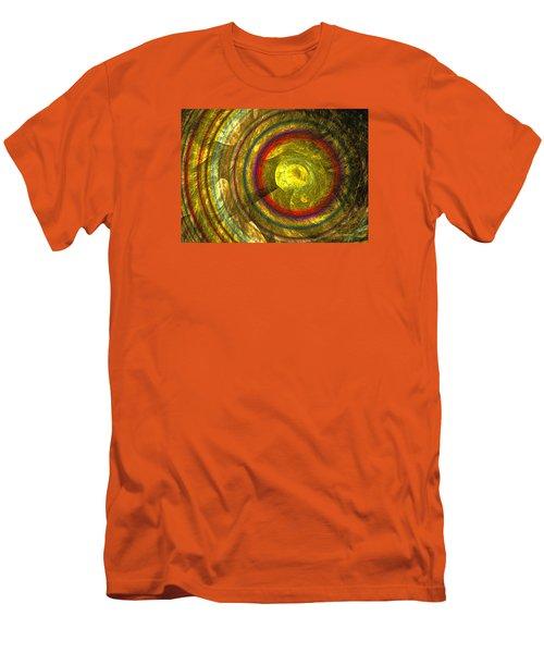Apollo - Abstract Art Men's T-Shirt (Slim Fit) by Sipo Liimatainen